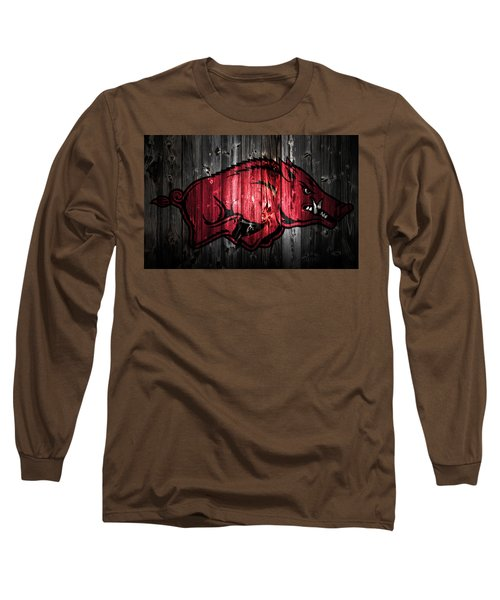 Arkansas Razorbacks 2a Long Sleeve T-Shirt