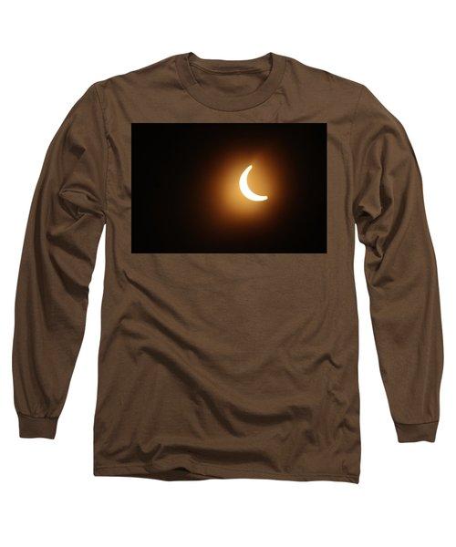 Around Peak Time Eclipse Long Sleeve T-Shirt