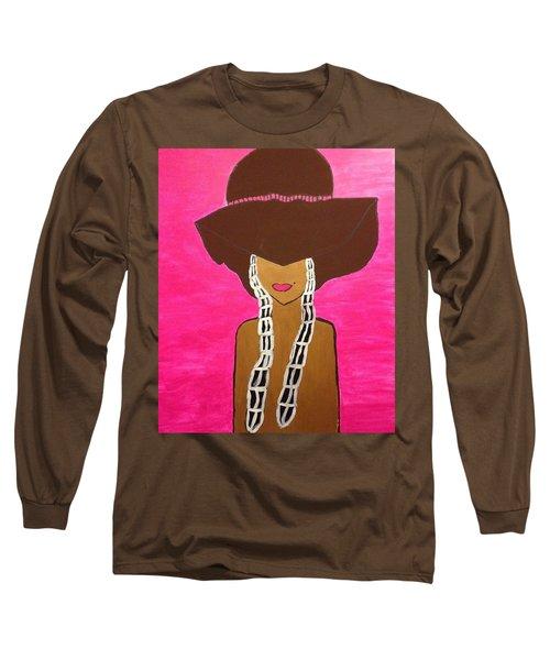 Around The Way Girl  Long Sleeve T-Shirt