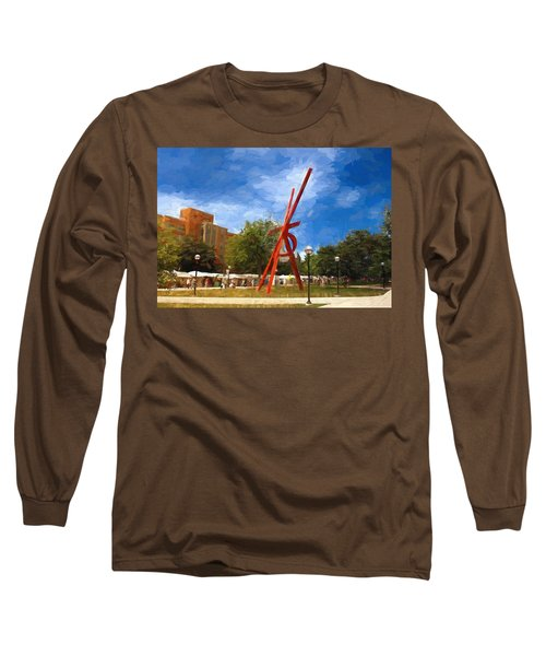 Art Fair Painting Long Sleeve T-Shirt