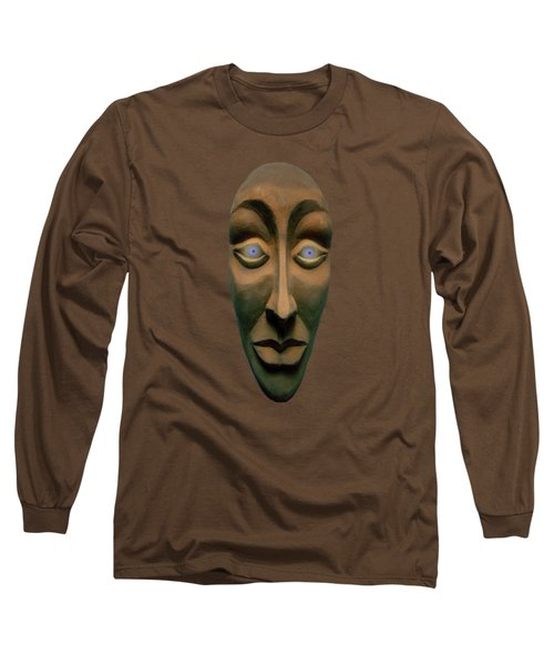 Artificial Intelligence Entity Long Sleeve T-Shirt by David Dehner
