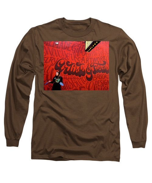 Artists And Fleas In New York  Long Sleeve T-Shirt