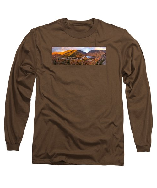 Artists Bluff Sunset Rainbow Long Sleeve T-Shirt