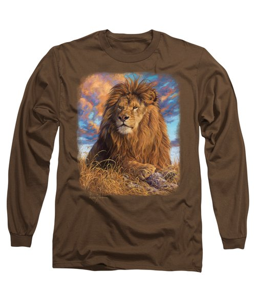 Watchful Eyes Long Sleeve T-Shirt by Lucie Bilodeau