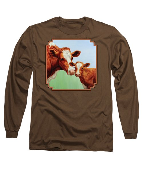 Cream And Sugar Long Sleeve T-Shirt