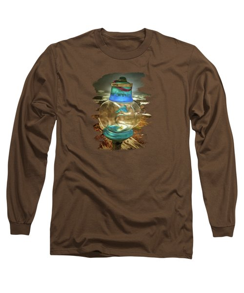 Beach Treasures - Faith Long Sleeve T-Shirt by Thom Zehrfeld
