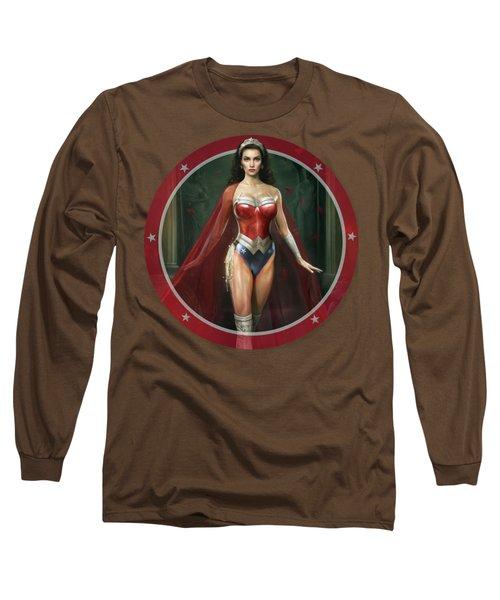 Wonder Woman Long Sleeve T-Shirt