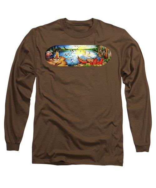 Adirondack Landscape Long Sleeve T-Shirt
