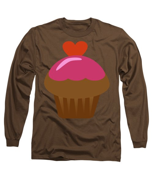 Chocolate Cupcake  Long Sleeve T-Shirt