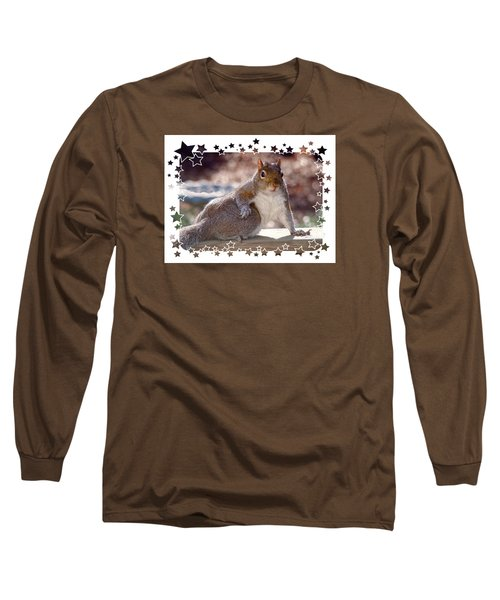 Long Sleeve T-Shirt featuring the photograph The Show Off by Sue Melvin