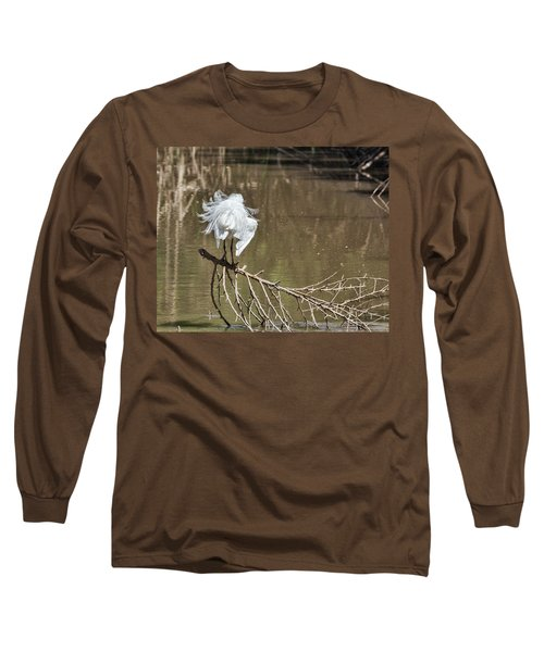 Fluff Time Long Sleeve T-Shirt by Bill Kesler