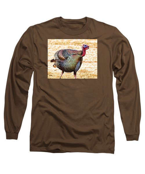 Sir Longbeard Long Sleeve T-Shirt by Bill Kesler