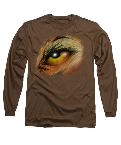 Eye Of The Beast Long Sleeve T-Shirt by Kevin Middleton