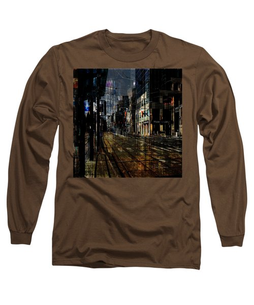 As The Sun Goes Down Long Sleeve T-Shirt by Nicky Jameson