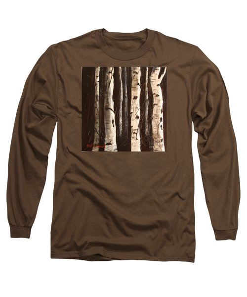 Aspen Stand Long Sleeve T-Shirt by Phyllis Howard
