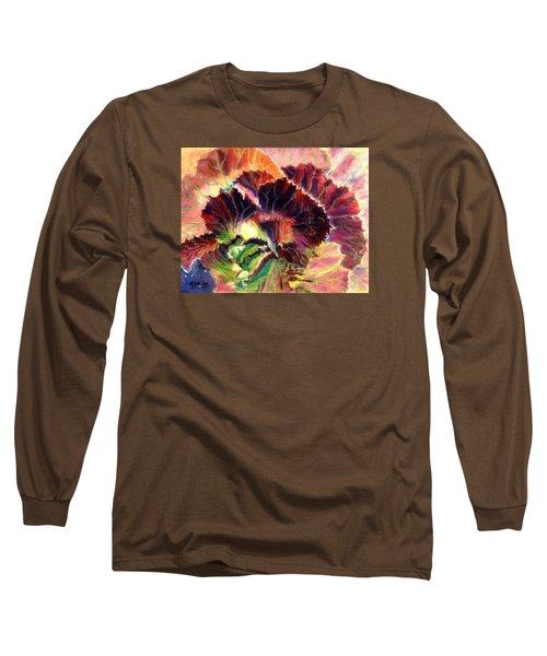 Astonishing Cabbage  Pastel Long Sleeve T-Shirt by Antonia Citrino