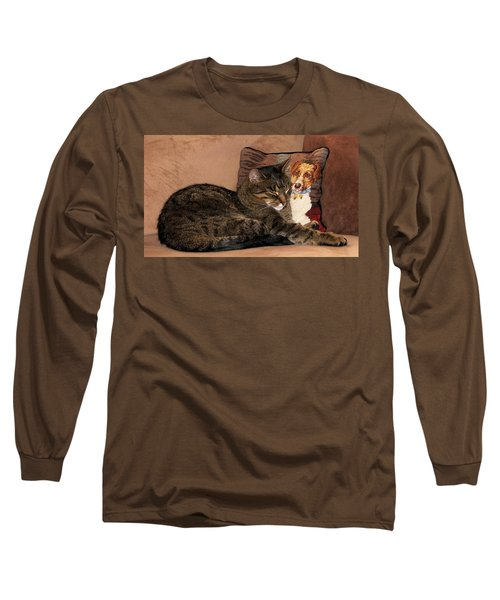 At Least One Thing Dogs Are Good For Long Sleeve T-Shirt