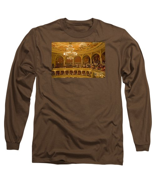 At The Budapest Opera Long Sleeve T-Shirt by Madeline Ellis