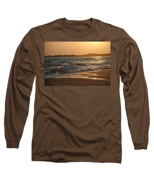 Long Sleeve T-Shirt featuring the photograph At The Golden Hour by Richard Bryce and Family