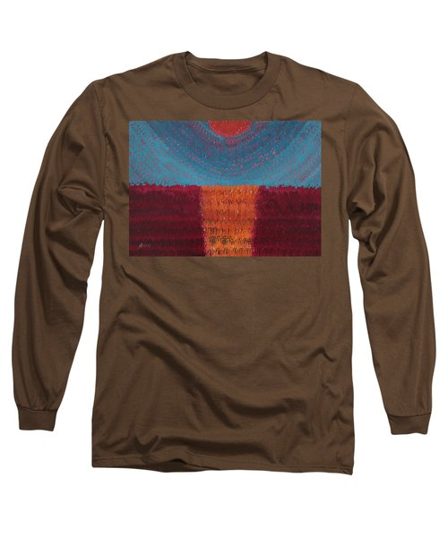 At World's Beginning Original Painting Long Sleeve T-Shirt
