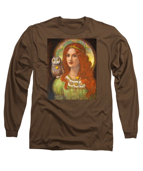 Athena And Her Owl- Wise Ones Long Sleeve T-Shirt
