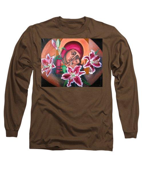 Aunt Katya's Icon Long Sleeve T-Shirt