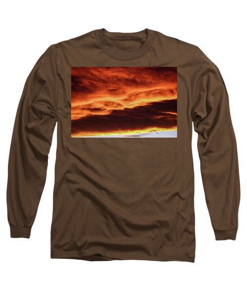 Aurora Firey Sunset Long Sleeve T-Shirt