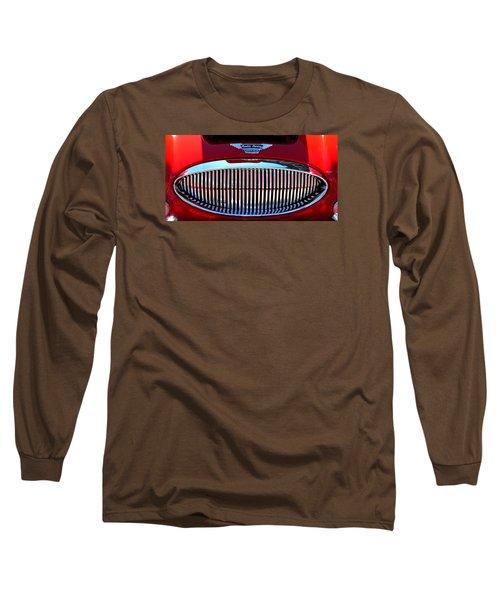Austin Healey Grille Long Sleeve T-Shirt by Spyder Webb