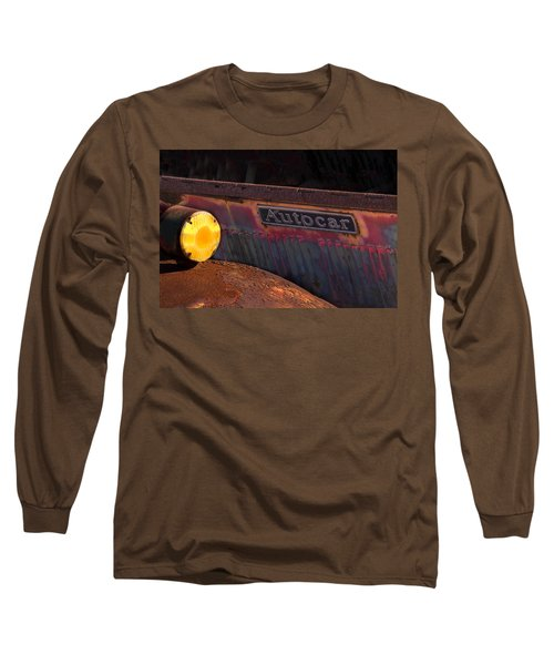 Autocar Trucks Long Sleeve T-Shirt by Tom Singleton