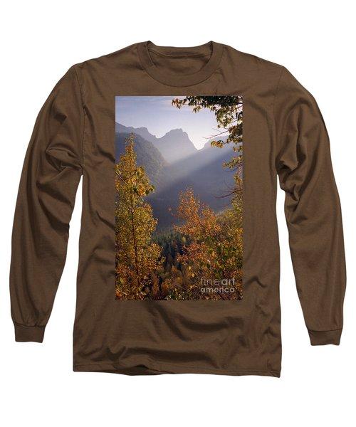Autumn At Logan Pass Long Sleeve T-Shirt