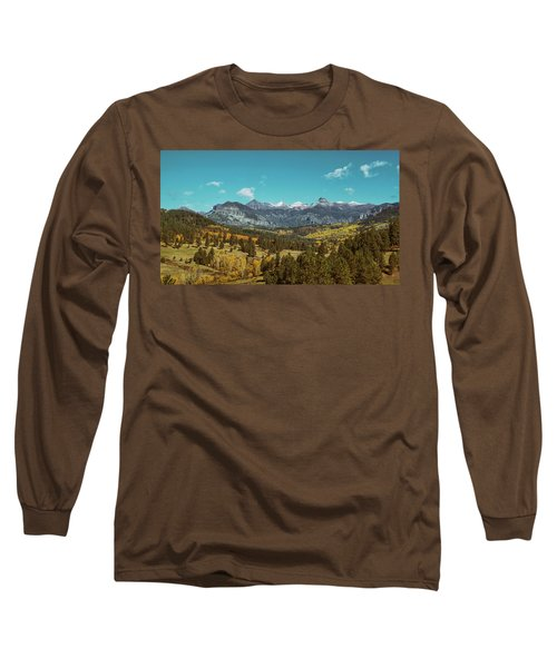 Autumn At The Weminuche Bells Long Sleeve T-Shirt
