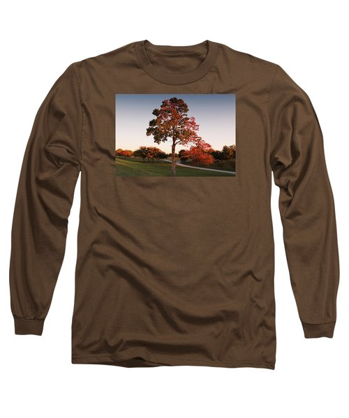 Long Sleeve T-Shirt featuring the photograph Autumn Beauty by Milena Ilieva