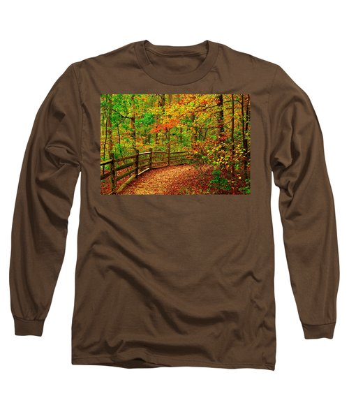 Autumn Bend - Allaire State Park Long Sleeve T-Shirt