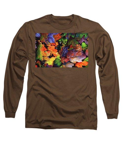Autumn Blues Long Sleeve T-Shirt