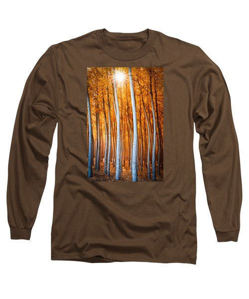 Autumn Canopy Burst Long Sleeve T-Shirt