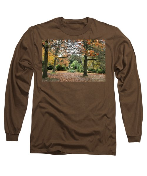 Long Sleeve T-Shirt featuring the photograph Autumn Fall by Katy Mei