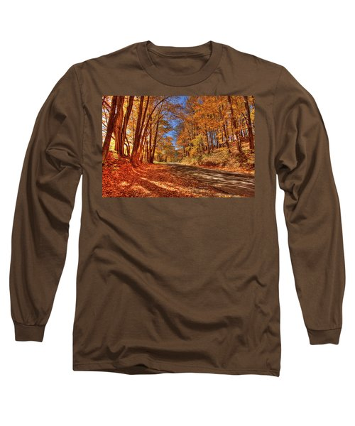 Autumn Glow Long Sleeve T-Shirt by Dale R Carlson