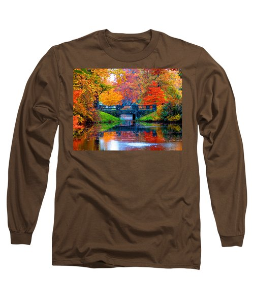 Autumn In Boston Long Sleeve T-Shirt