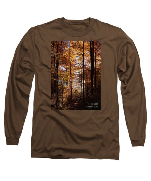 Autumn In The Alps 4 Long Sleeve T-Shirt by Rudi Prott