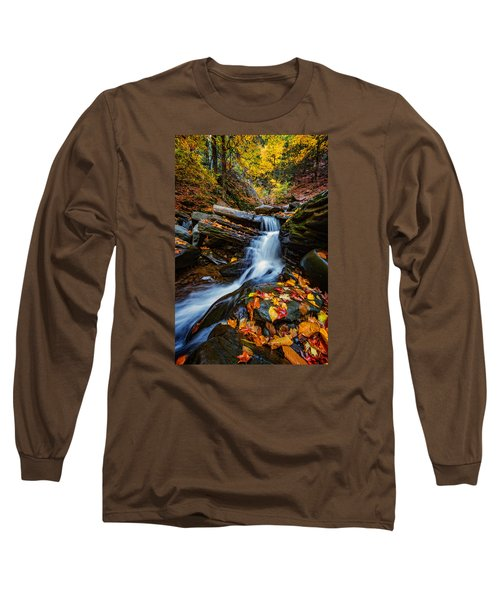 Autumn In The Catskills Long Sleeve T-Shirt