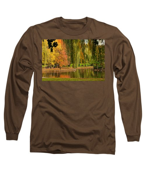 Autumn In The Garden Long Sleeve T-Shirt