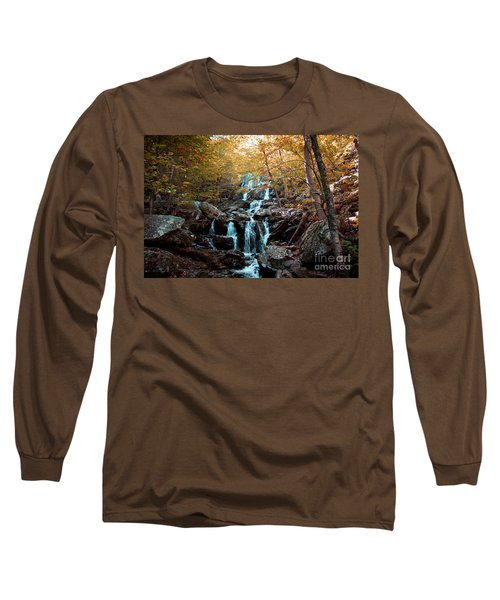 Autumn In The Mountains Long Sleeve T-Shirt by Rebecca Davis
