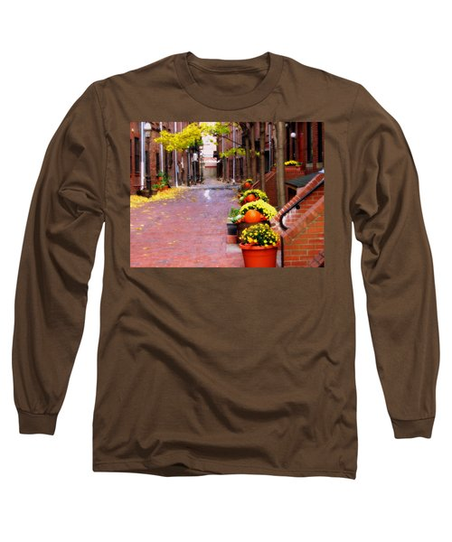 Long Sleeve T-Shirt featuring the photograph Autumn In The North End by Bruce Carpenter