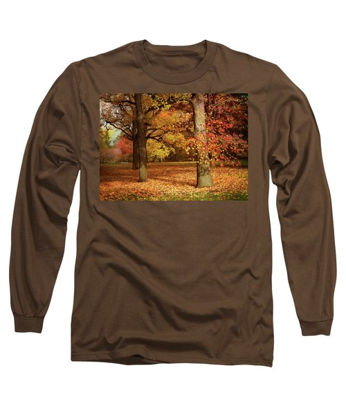 Autumn In The Orchard Long Sleeve T-Shirt