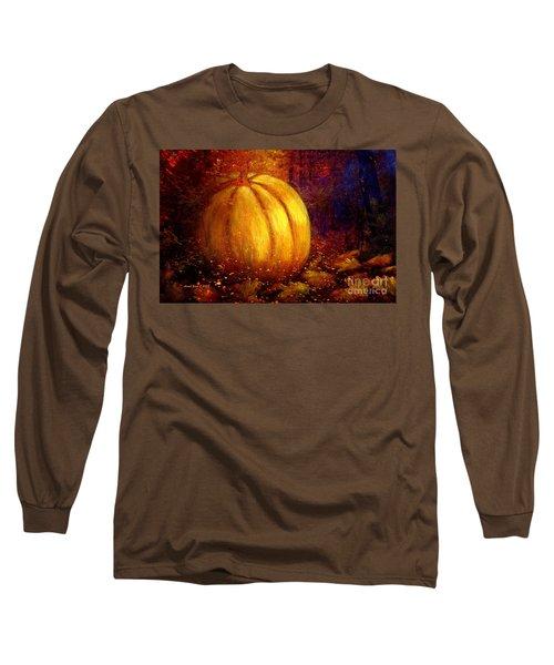 Autumn Landscape Painting Long Sleeve T-Shirt