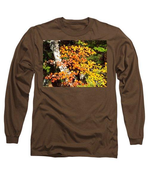 Autumn Maple Long Sleeve T-Shirt