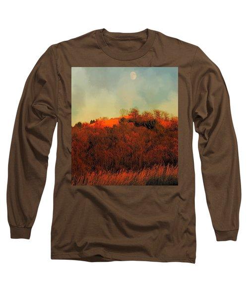 Autumn Moonrise Long Sleeve T-Shirt