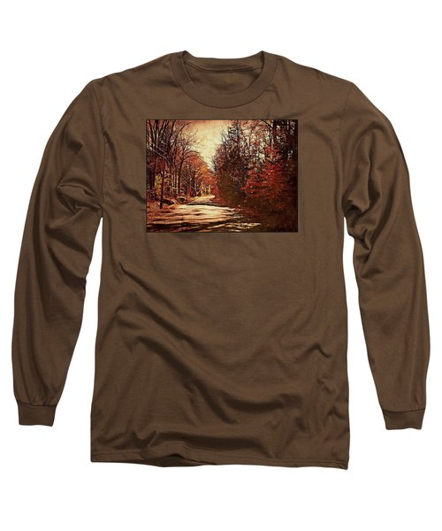 Autumn Norland's Road Long Sleeve T-Shirt by Joy Nichols