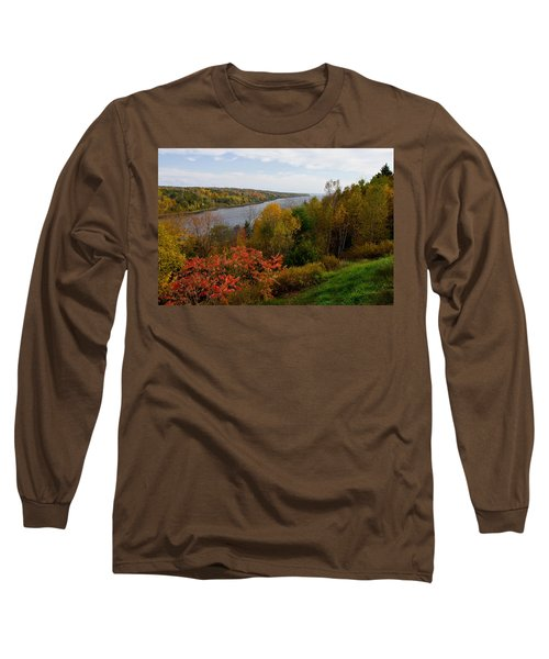 Autumn On The Penobscot Long Sleeve T-Shirt