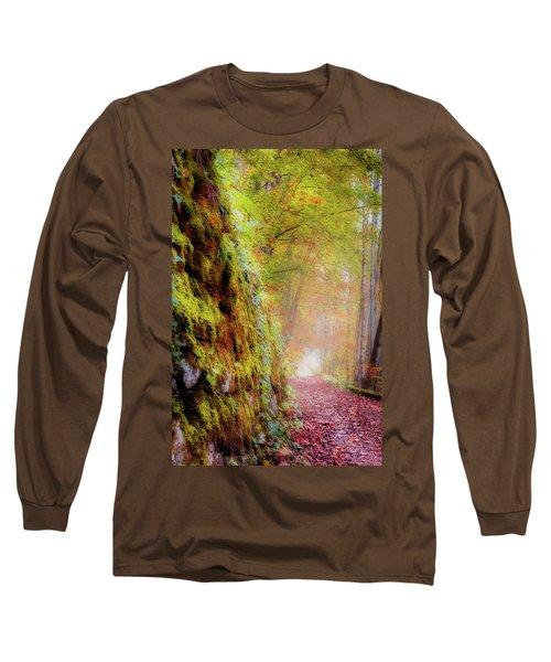 Autumn Path Long Sleeve T-Shirt
